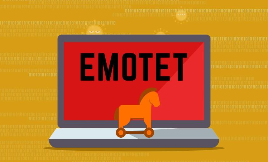 Emotet malware trojan portugal